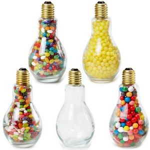 Jumbo Light Bulb Shape Jar w/ Lemon Heads