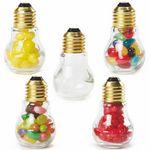 Custom Light Bulb Shape Jar Small - Empty