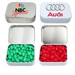 Custom Rectangular Hinged Mint Tin Box Small w/Mints