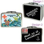 Custom Chalkboard Small Lunch Box Tin
