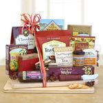 Custom Deluxe Cheese and Snack Board Gift Set
