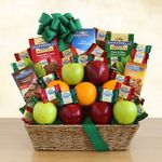 Custom Fruit and Ghirardelli Classic Gift Basket