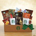 Custom Classic Starbucks Coffee and Cocoa Gift Box
