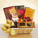 Custom A Gift of Godiva Gift Basket