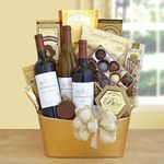 Custom Golden Vineyard Gourmet Gift