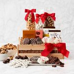 Custom Crunch Time Sweet Snacks Gift Basket