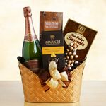 Custom Chocolate and Bubbly Favorites Gift