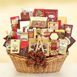 Custom Gourmet Grandeur Gift Basket