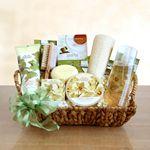 Custom Elegant Orchid Spa Sensation Gift Basket