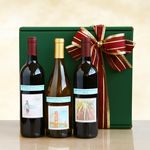 Custom Delicious Vineyard Selections Gift Box