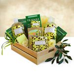 Custom Natural Cucumber and Olive oil Spa Gift