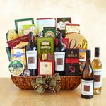 Custom Kenwood Winery 4 Bottle Extravaganza Gift Basket
