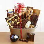 Custom Chocolicious Sampler Gift Basket