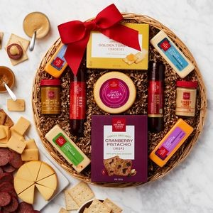 Holiday Favorite Meat and Cheese Gift Basket