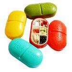 Custom Oval Pill case