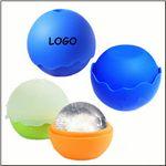 Custom Wave Shape Silicone Ice Ball Mold Tray Maker