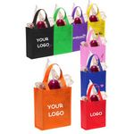 Custom 80 GSM Non-Woven Large Imprint Grocery Shopping Tote Bag