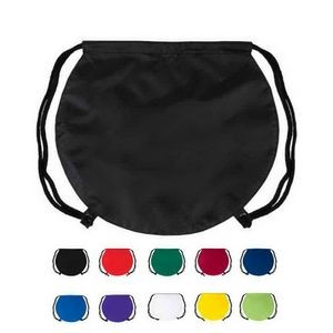 Round Drawstring Backpack