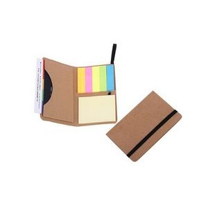 Card Holder With Sticky Note