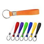Custom Silicone Bracelet Keychain