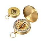 Custom Brass Pocket Compass