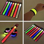 Custom Light Up Slap Wristband