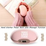 Custom Universal 3600mah Hand Warmer Massager Power Bank