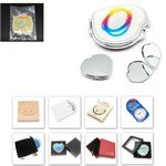 Custom Rectangle Shape Cosmetic Pocket Mirror