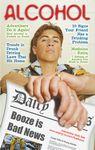 Custom Saying No! Alcohol Booze is Bad News Mini Magazine