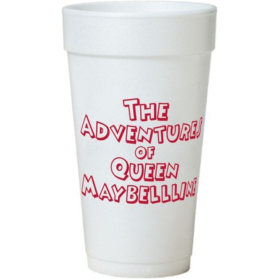 20 Oz. Tall White Styrofoam Coffee Cup