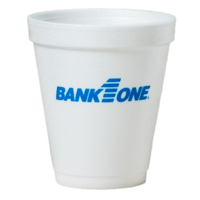 8 Oz. Tall White Styrofoam Coffee Cup