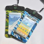 Custom Compass Camouflage Waterproof Bag For iPhone 6