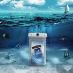 Custom TPU Special Thermometer Waterproof Bag For iPhone 7 plus