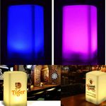Custom Cube Shaped Rechargeable Bar Table Lamp