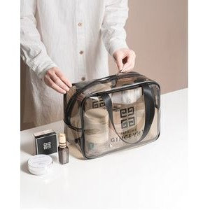 Transparent Travel Storage Pouch Toiletry Bag (Small)