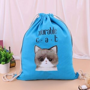 Double Shoulder Cotton backpack