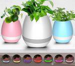 Custom Mini Wireless Waterproof Bluetooth Speaker W/ Flower Pot