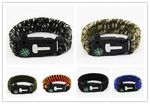Custom Outdoor Multifuntional Survival Bracelets With Blade