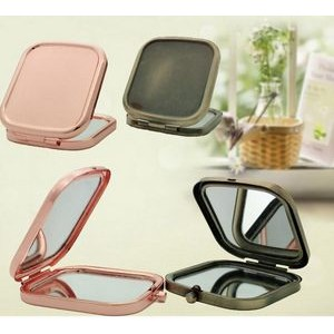 Square Shape Foldable Cosmetic Mirror