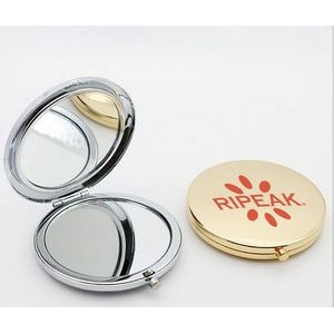 Round Shape Foldable Cosmetic Mirror