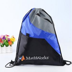 210D Polyester Drawstring Bag Pack