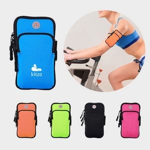 Neoprene 5.5'' Size Sports Armband Case for Cell Phone, Mobile Phone Holder