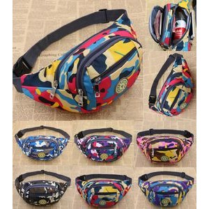 Big Capacity Canvas Fanny Pack
