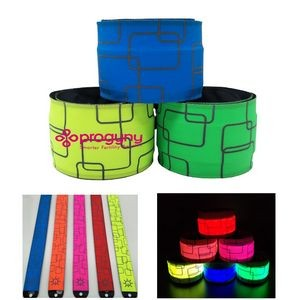 LED Slap Bracelet For Outdoor Party (Sewing)