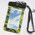 Custom Compass camouflage Waterproof Bag for iPhone 6 plus