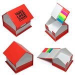 Custom Creative House Shape Desktop Sticky Note Set