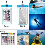 Custom Compass Waterproof bag with luminous function for 5.5'' phone