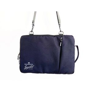 "13"" Laptop Sleeve with 3 pockets and shoulder strap"