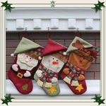 Custom Christmas Quilted Stocking Collection