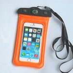 Custom Inflatable Float 5.8'' Compass Waterproof Bag For Swimming